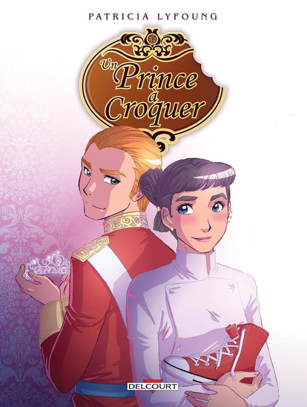 Prince à croquer T4 : Dessert (0), bd chez Delcourt de Lyfoung, Fleur