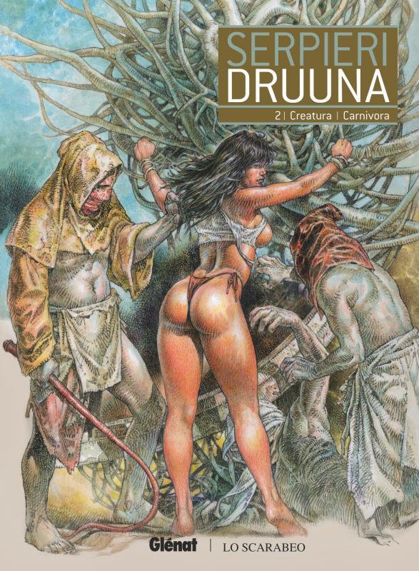 Druuna T2 : Creatura - Carnivora (0), bd chez Glénat de Serpieri