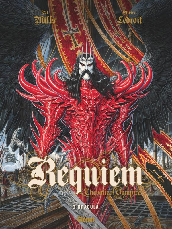 Requiem - chevalier vampire T3 : Dracula (0), bd chez Glénat de Mills, Ledroit