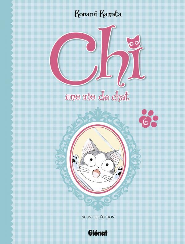 Chi - une vie de chat (format BD) T6, bd chez Glénat de Konami