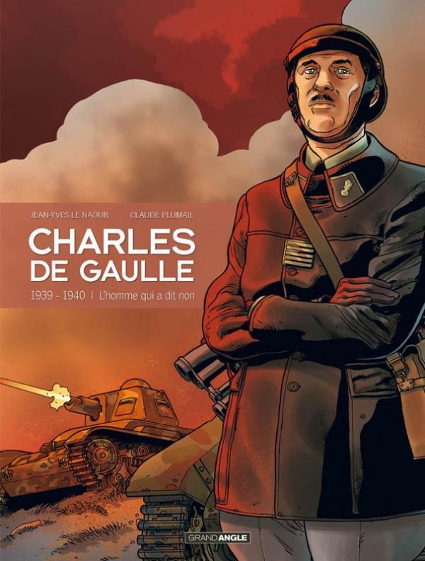 Charles de Gaulle T2 : 1939-1940 l'homme qui a dit non ! (0), bd chez Bamboo de Le Naour, Plumail, Ralenti