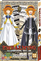 Embalming - Une autre histoire de Frankenstein T9, manga chez Kazé manga de Watsuki
