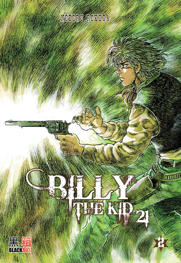 Billy the kid 21 T2, manga chez Black Box de Rokuda