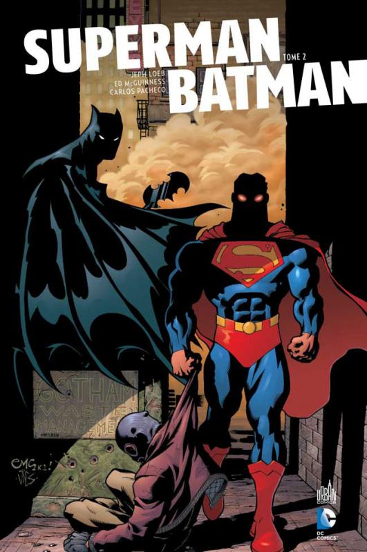 Superman & Batman T2, comics chez Urban Comics de Loeb, Loeb, Pacheco, McGuinness, Sale, Churchill, McCaig, Loughridge, Stewart, Villarrubia, Martin, Strain