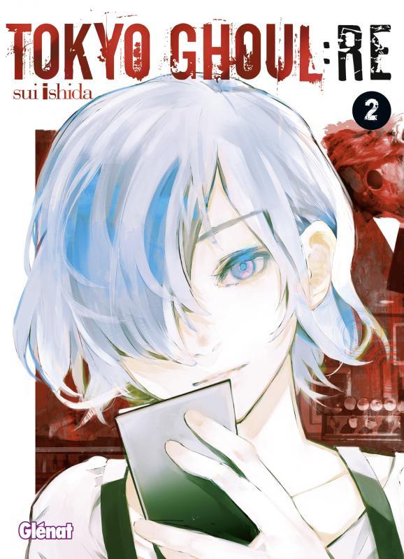 Tokyo ghoul:re T2, manga chez Glénat de Ishida