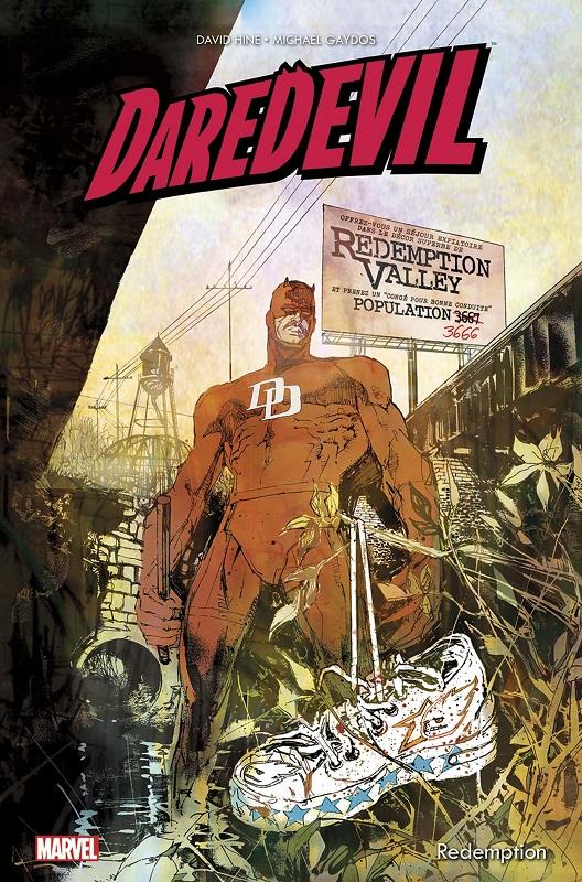 Daredevil - Redemption, comics chez Panini Comics de Hine, Gaydos, Loughridge, Sienkiewicz