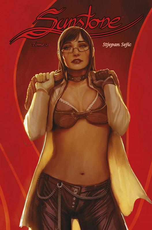Sunstone T2, comics chez Panini Comics de Sejic