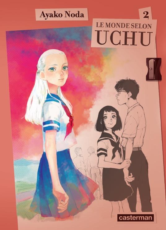 Le monde selon Uchu  T2, manga chez Casterman de Noda