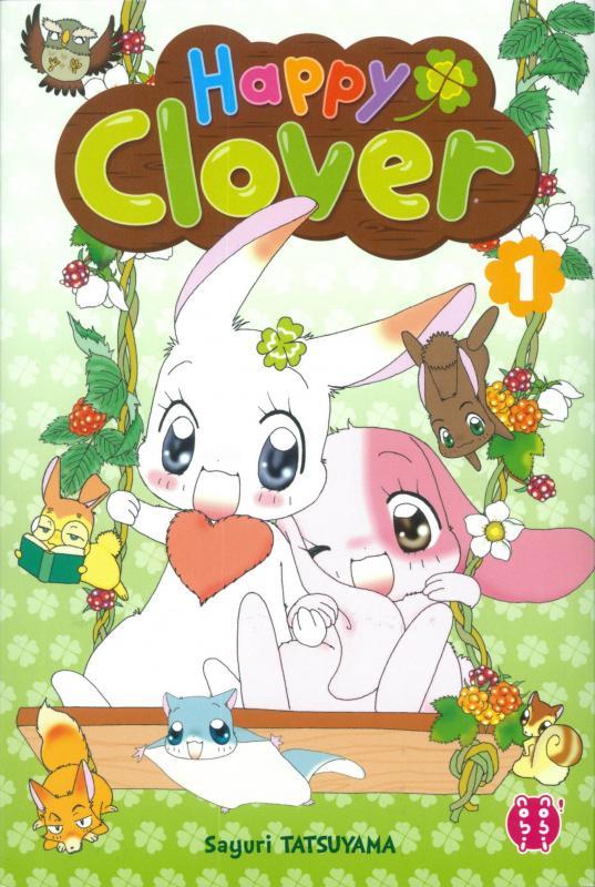 Happy clover T1, manga chez Nobi Nobi! de Tatsuyama