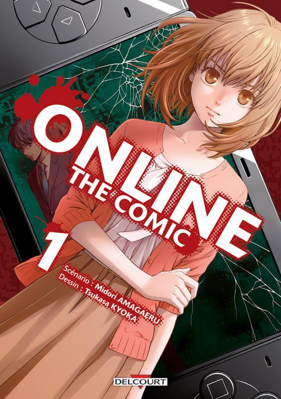 Online the comic  T1, manga chez Delcourt de Amagaeru, Kyoka