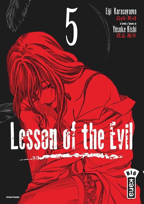 Lesson of the evil T5, manga chez Kana de Kishi, Karasuyama