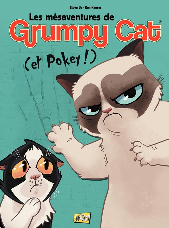 Les mésaventures de Grumpy Cat T1, bd chez Jungle de McCool, Uy