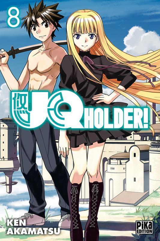 UQ Holder! T8, manga chez Pika de Akamatsu