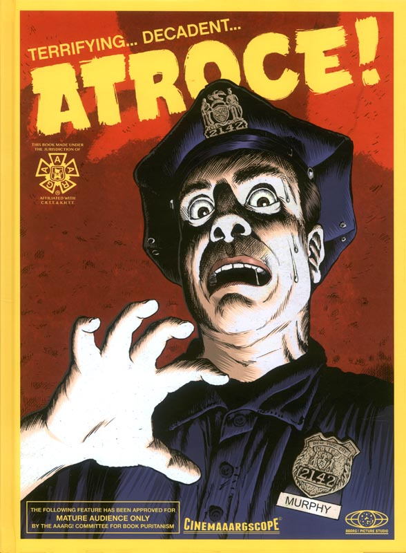 Atroce !, bd chez Aaarg ! de Caritte, Mr Pek, Jürg, Rifo, Khattou
