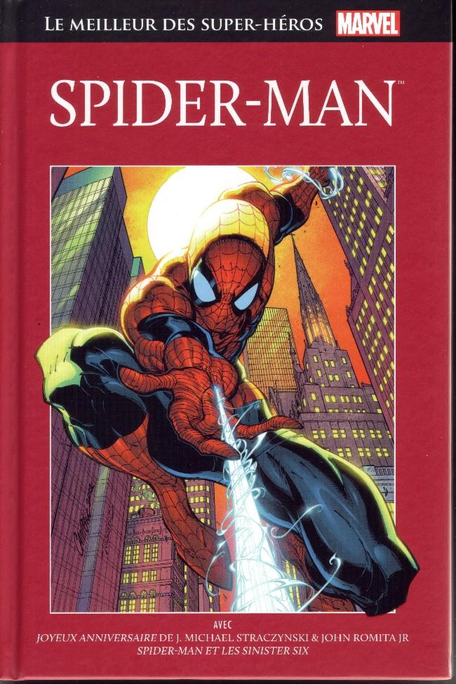Marvel Comics : le meilleur des super-héros T2 : Spider-Man (0), comics chez Hachette de Lee, Straczynski, Ditko, Romita Jr, Hanna, Campbell