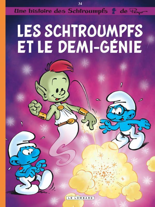 Les Schtroumpfs T34 : Les Schtroumpfs et le demi-génie (0), bd chez Le Lombard de Jost, Culliford, Diaz Vizoso, de Coninck, Culliford