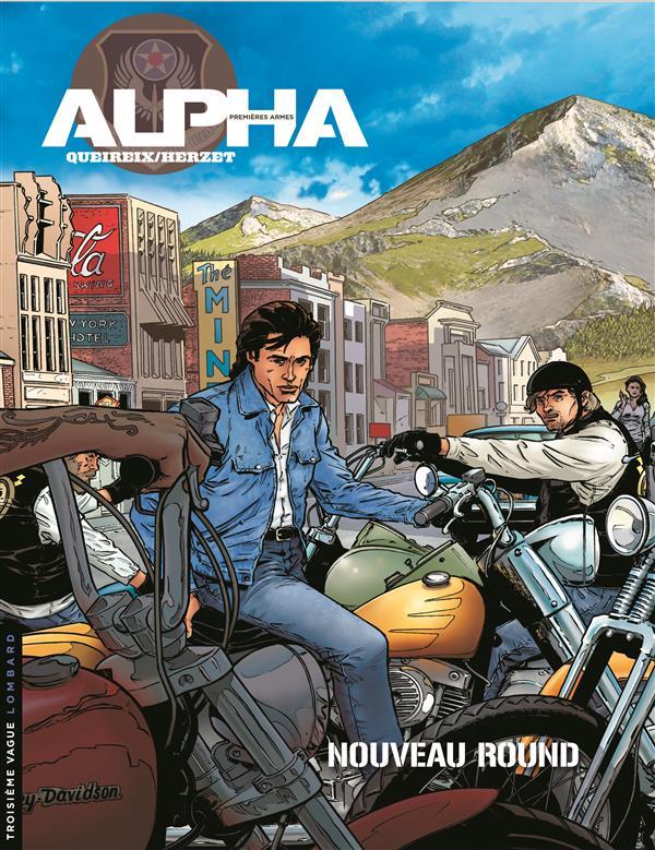 Alpha - Premières armes T3 : Nouveau round (0), bd chez Le Lombard de Herzet, Queireix