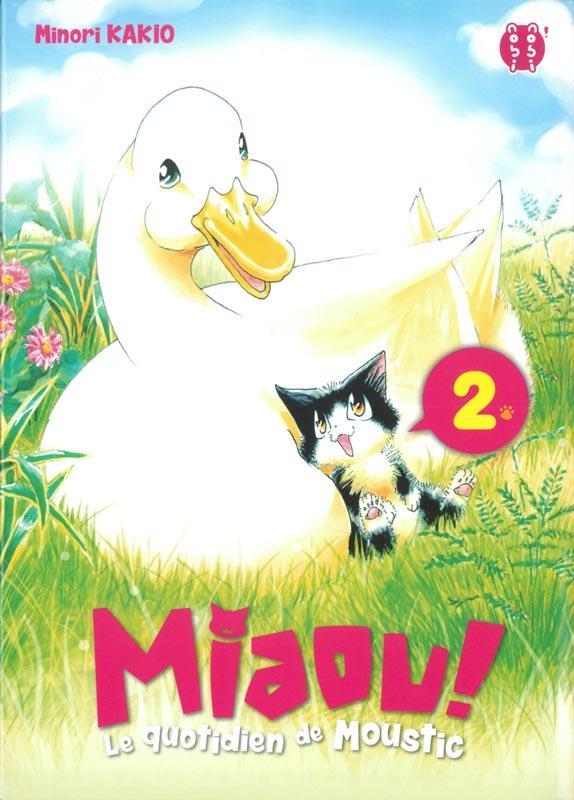 Miaou ! Le quotidien de Moustic T2, manga chez Nobi Nobi! de Kakio