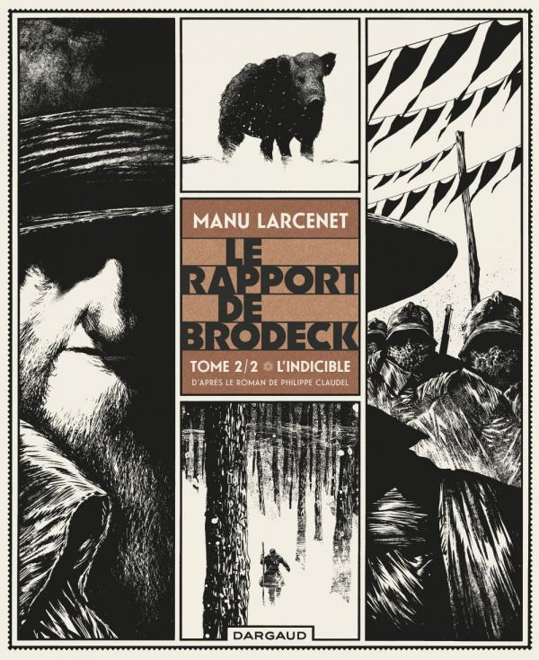 Le Rapport de Brodeck T2 : L'indicible, bd chez Dargaud de Larcenet