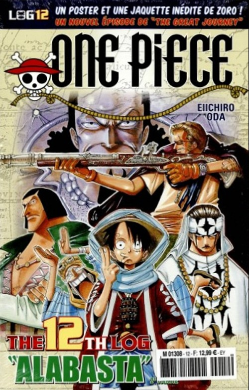 One Piece - Log Books T12 : Alabasta - 2ème partie (0), manga chez Hachette de Oda