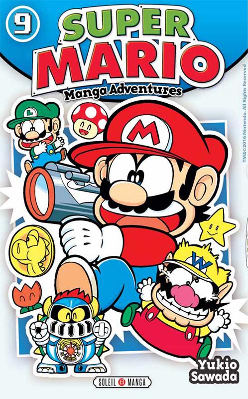 Super Mario T9, manga chez Soleil de Sawada