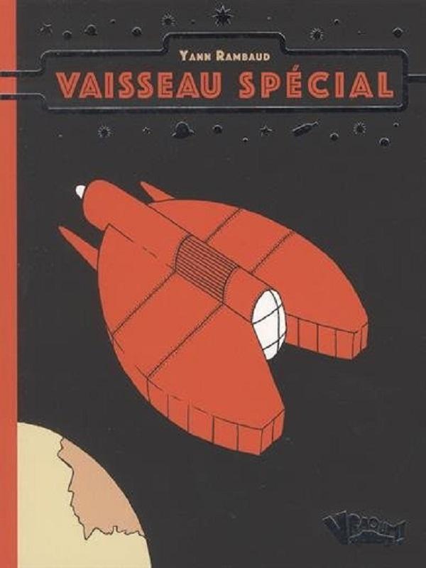 Vaisseau spécial, bd chez Vraoum! de Rambaud