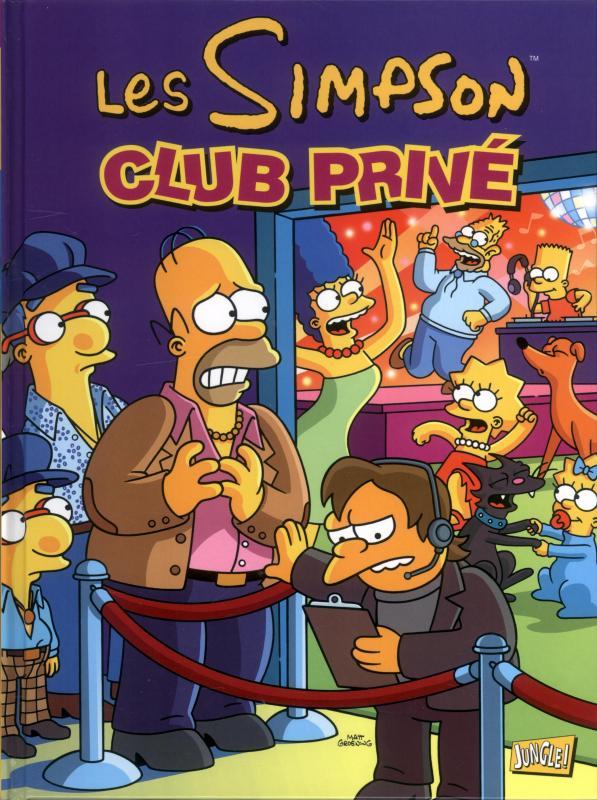 Les Simpson T29 : Club pivé (0), comics chez Jungle de Boothby, Ortiz, Villanueva, Groening