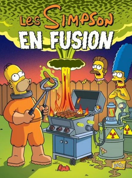 Les Simpson T30 : En fusion (0), comics chez Jungle de Boothby, Ortiz, Villanueva, Groening