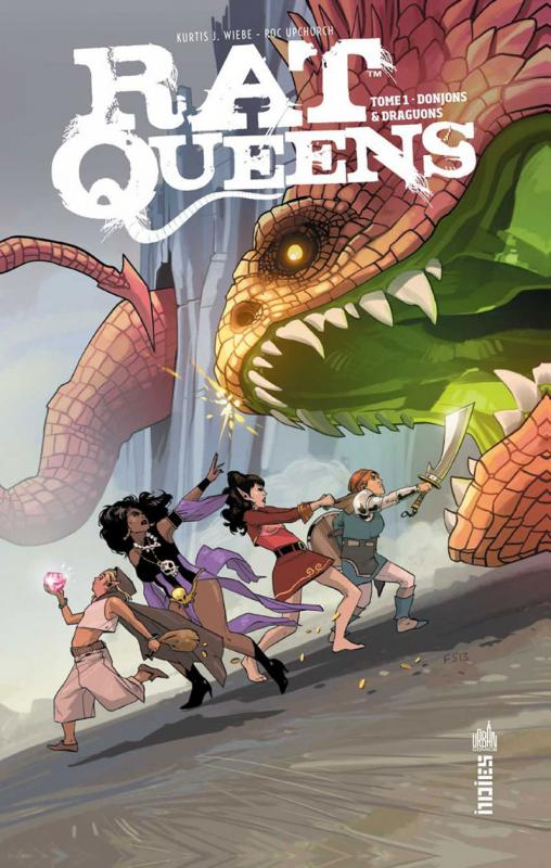 Rat Queens T1 : Donjons et Draguons (0), comics chez Urban Comics de Wiebe, Upchurch, Staples