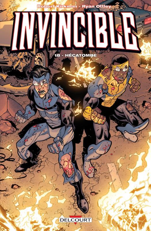 Invincible T18 : Hécatombe (0), comics chez Delcourt de Kirkman, Ottley, Rathburn, Rauch