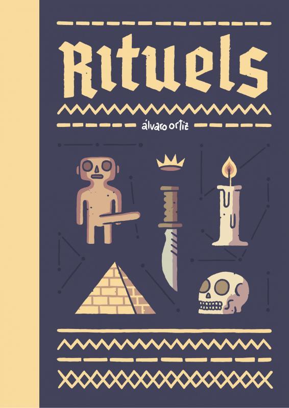 Rituels, bd chez Rackham de Ortiz