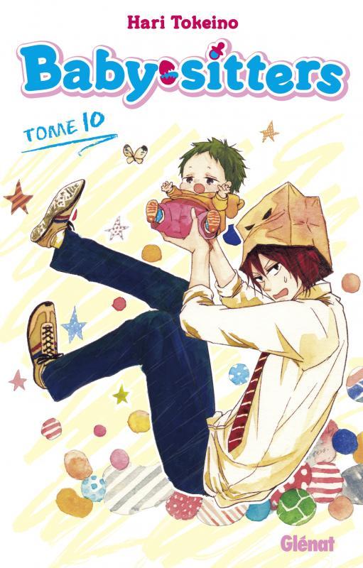 Baby sitters T10, manga chez Glénat de Tokeino