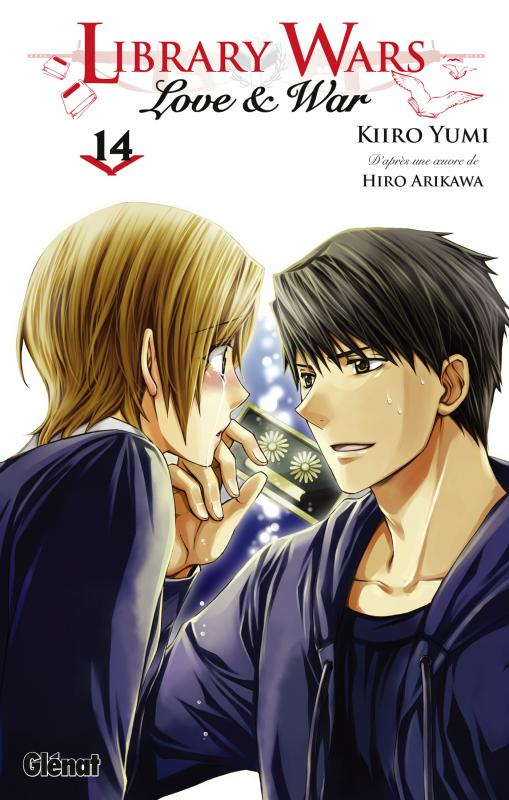 Library wars - Love & war  T14, manga chez Glénat de Arikawa, Yumi