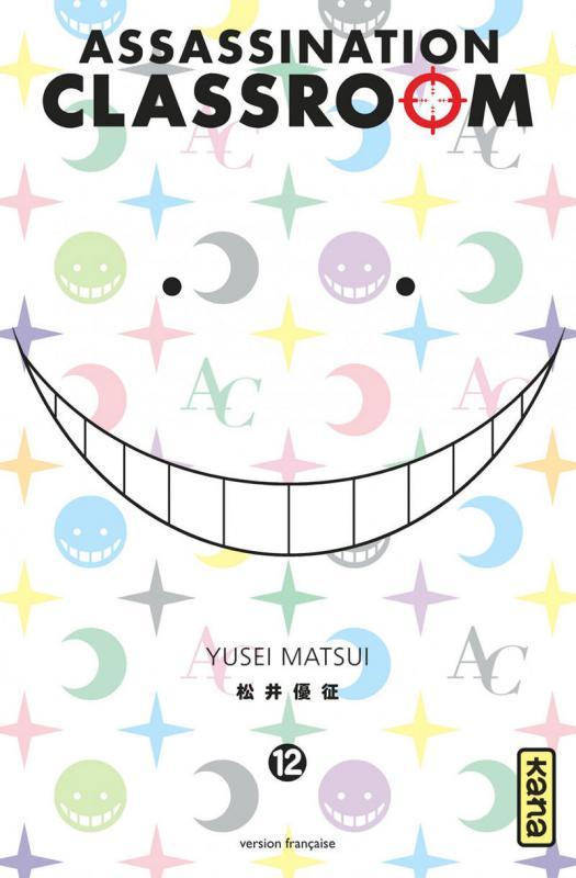 Assassination classroom T12, manga chez Kana de Yusei