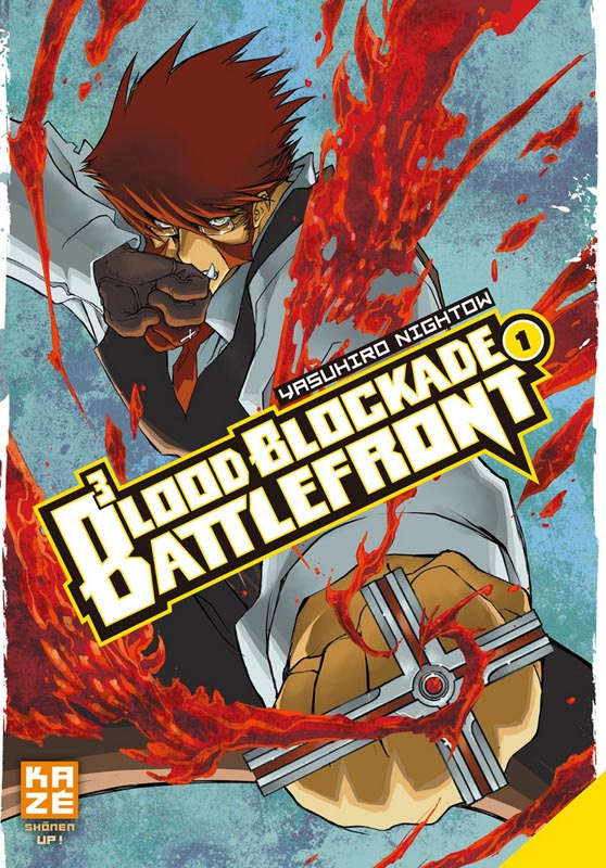 Blood blockade battlefront T1, manga chez Kazé manga de Nightow