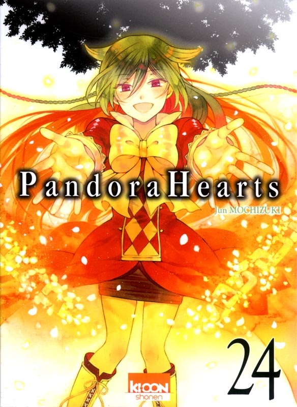 Pandora Hearts T24, manga chez Ki-oon de Mochizuki