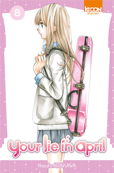 Your lie in april  T8, manga chez Ki-oon de Arakawa
