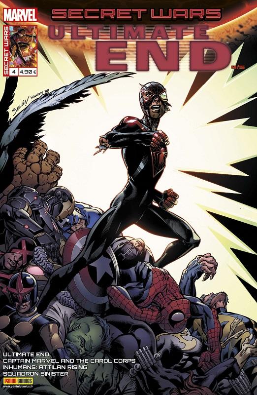Secret Wars : Ultimate End T4 : Sous pression (0), comics chez Panini Comics de Bendis, Soule, Guggenheim, Timms, Bagley, Pacheco, Ponsor, Martin jr, d' Armata