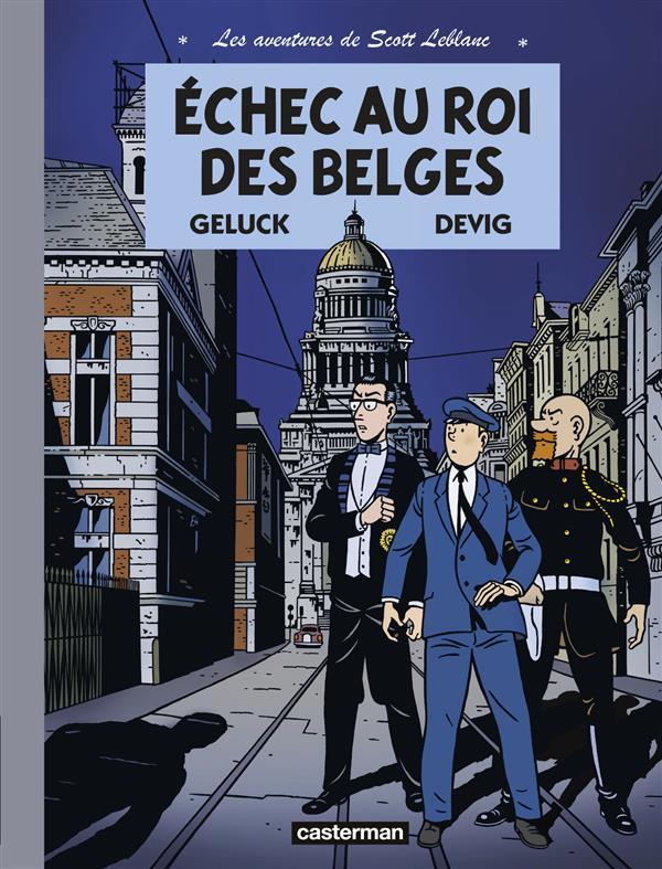 Les aventures de Scott Leblanc T4 : Tempête à l'OTAN (0), bd chez Casterman de Geluck, Devig, Paganotto