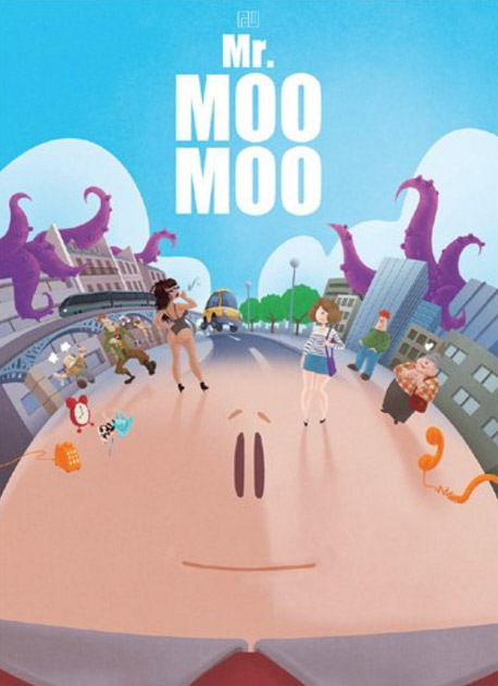 Mr Moo Moo : , bd chez Monsieur Pop Corn de Pow