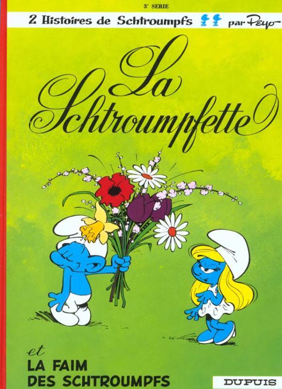 Les Schtroumpfs T3 : La schtroumpfette (0), bd chez Le Lombard de Peyo