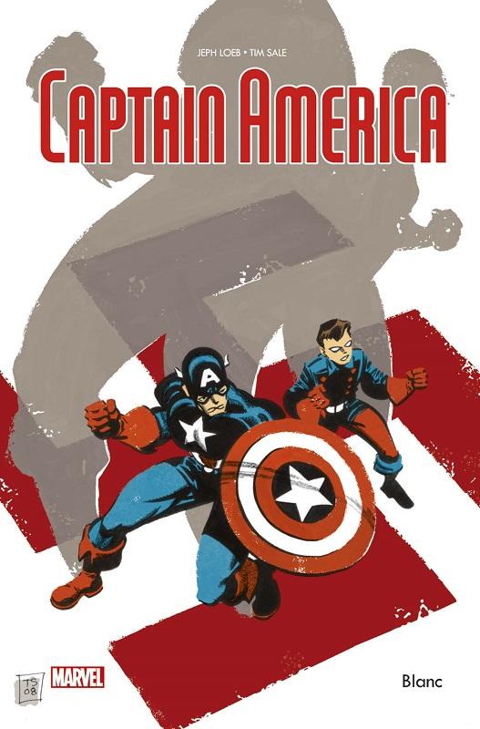 Captain America - Blanc, comics chez Panini Comics de Loeb, Sale, Stewart