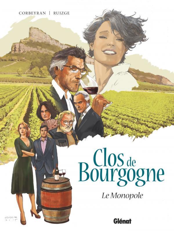 Clos de Bourgogne : Le monopole (0), bd chez Glénat de Corbeyran, Ruizge, Yugo