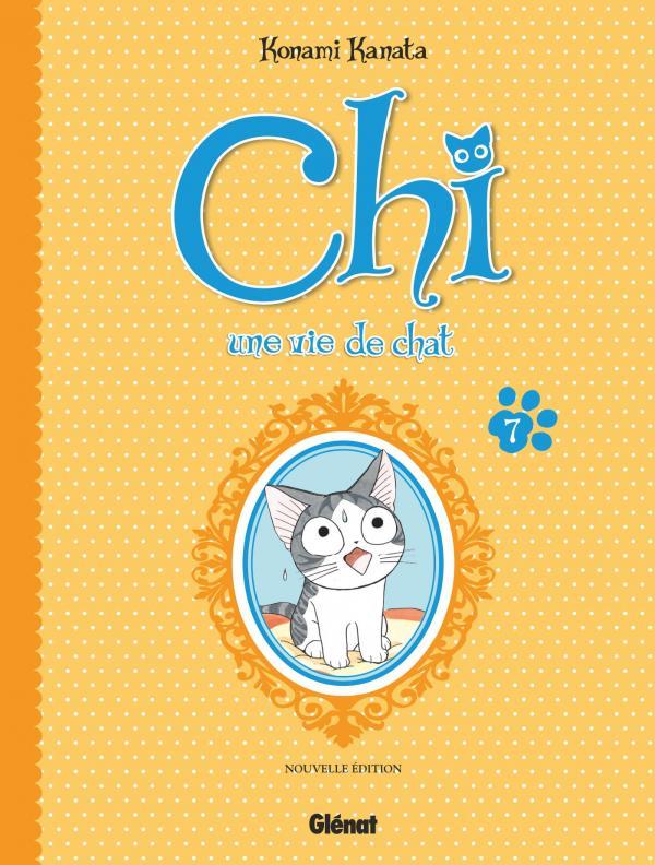Chi - une vie de chat (format BD) T7, bd chez Glénat de Konami