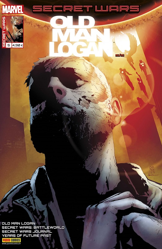 Secret Wars : Old Man Logan T5 : Seconde chance (0), comics chez Panini Comics de Bendis, Ferrier, Grace, Tieri, Bennett, Lashley, Isanove, Sorrentino, Norton, Pope, Bellaire, FCO Plascencia, Rosenberg, Maiolo