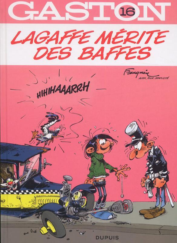 Gaston T16 : Lagaffe mérite des baffes (0), bd chez Dupuis de Franquin, Léonardo