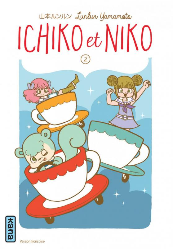 Ichiko & Niko T2, manga chez Kana de Yamamoto