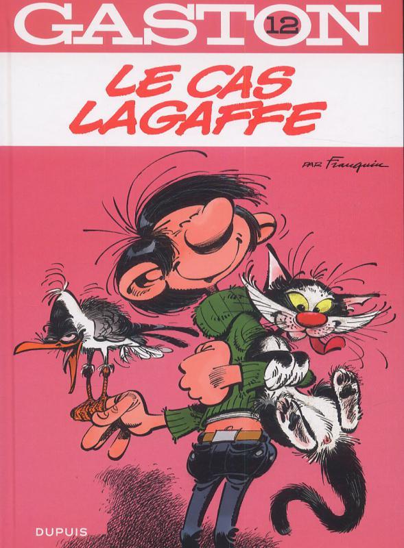 Gaston T12 : Le cas Lagaffe (0), bd chez Dupuis de Franquin, Léonardo