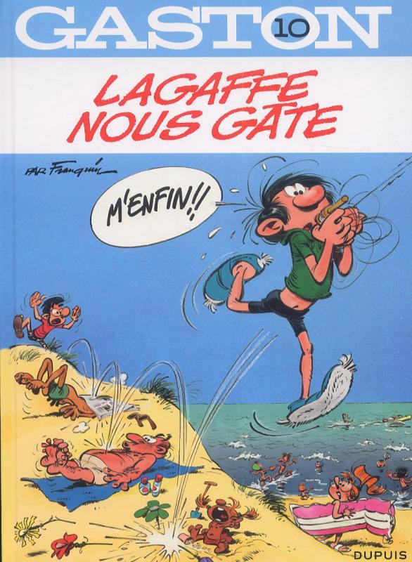 Gaston T10 : Lagaffe nous gâte (0), bd chez Dupuis de Franquin, Léonardo