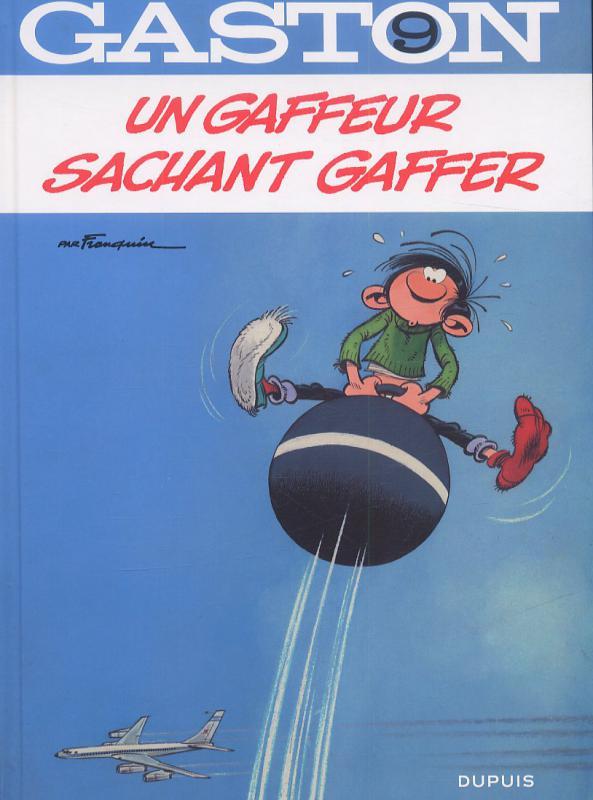 Gaston T9 : Un gaffeur sachant gaffer (0), bd chez Dupuis de Franquin, Léonardo